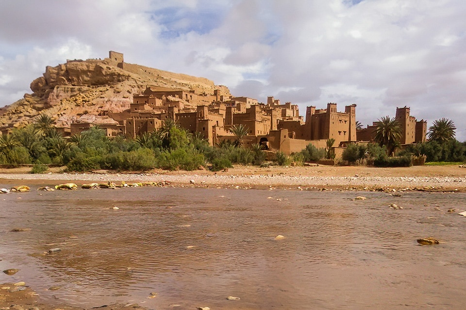 THE KASBAH OF AIT BEN HADDOU IS ONE OF THE BEST KNOWN FORTIFIED CITIES OF MOROCCO. PHOTOGRAPH BY JAVI ELORRIAGA, BIRDING THE STRAIT.